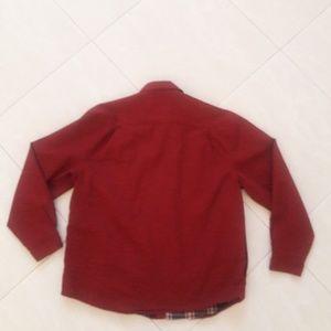 Wrangler Shirts - Wrangler Men Lined Red shirt Size Large